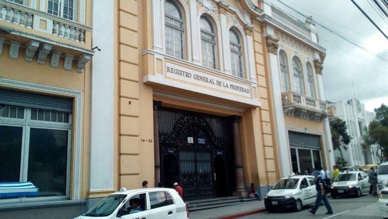 Gestiones ante El Registro General de la Propiedad en Guatemala